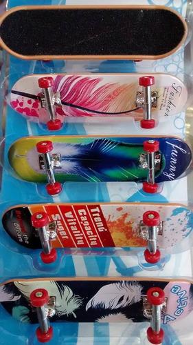 kit com 5 skate de dedo fingerboard pronta entrega