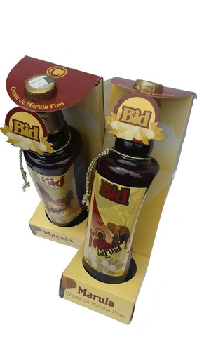 kit com 5 unidades licor marula bid - 880ml