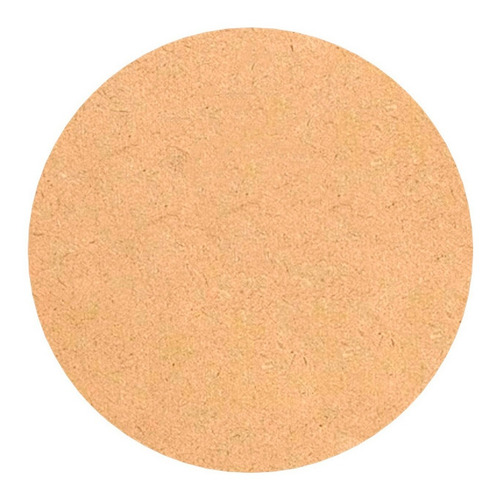 kit com 50 bolachas 35x35 mdf crú círculos sousplast aplique