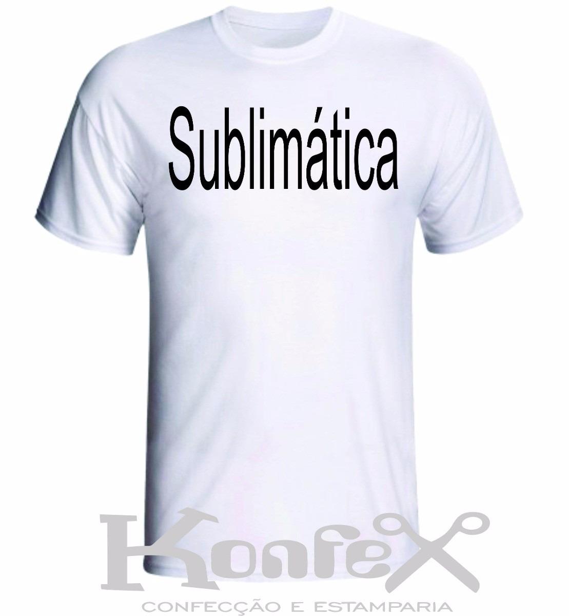 7ddbd63ea7 Kit Com 50 Camisetas Lisas Para Sublimação (100% Poliéster) - R  500 ...