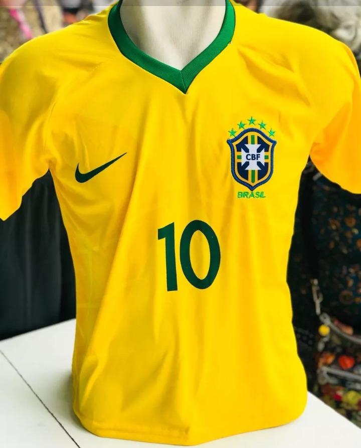 90d64ccbc418b kit com 6 camisa seleçao brasileira copa 2018 promoção. Carregando zoom.