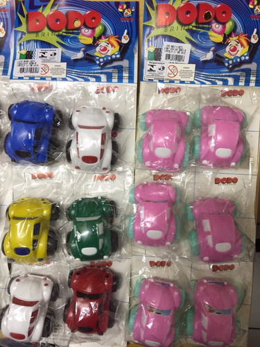 kit com 6 carrinhos sortidos -  indicar modelo desejado.