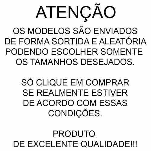 bab8150d5 Kit Com 6 Cuecas Samba Cancao Algodão Masculina Box Promoção - R  85 ...
