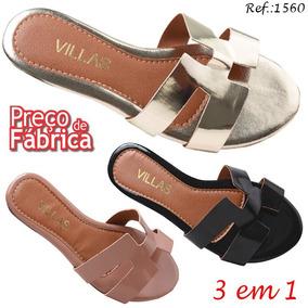 1a4472812 Rasteirinhas Ville Marie Atacado - Sapatos no Mercado Livre Brasil