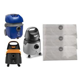 Kit Com 6 Sacos Aspirador De Pó Electrolux Flex A10n1 Smart