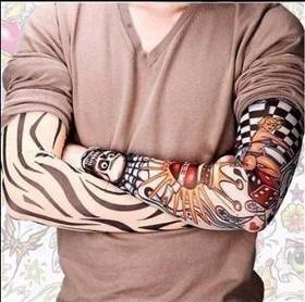 kit com 6 tatto segunda pele para braço ou perna tatuagem