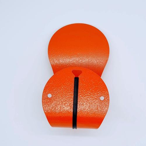 kit com 6 unidades do suporte de parede para capacete moto