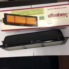 kit com 6 unidades queimador infravermelho frangueira