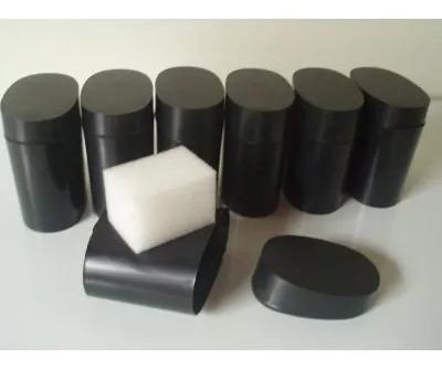 kit com 60 caixas acrílica preta para guardar relógios com.