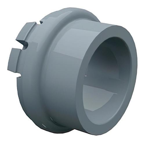 kit com 60pçs adaptador pvc para condulete cinza 3/4 pol