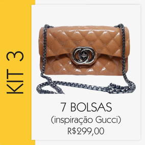 461af02b8 Bolsa Gucci Atacado - Calçados, Roupas e Bolsas no Mercado Livre Brasil