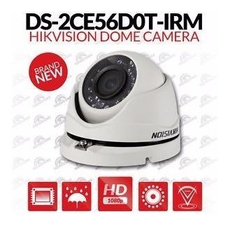 kit com 8 câmera hdtvi 1080p full hd dome hikvision