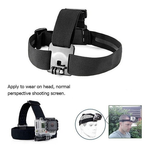kit com componentes e acessórios para câmeras vivitar action