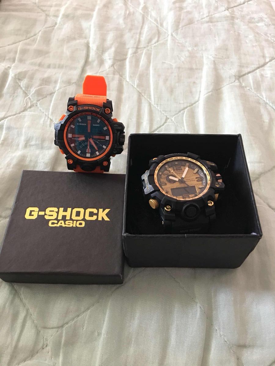 0ddb1c8d849 kit com dois relógios masculinos lindos importados. Carregando zoom.