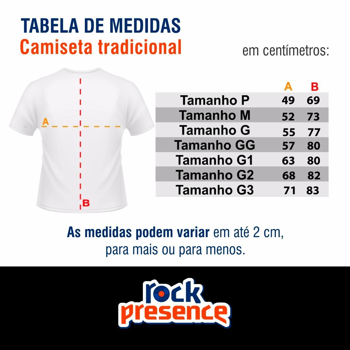 f57b30f746 Kit Com Duas Camisetas Classic Rock   Camisa Personalizada - R  129 ...