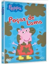kit com dvd da peppa pig + dinossauro george + george pig