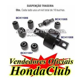Kit Com Todas As Buchas Civic Até 2000, Dianteira E Traseira