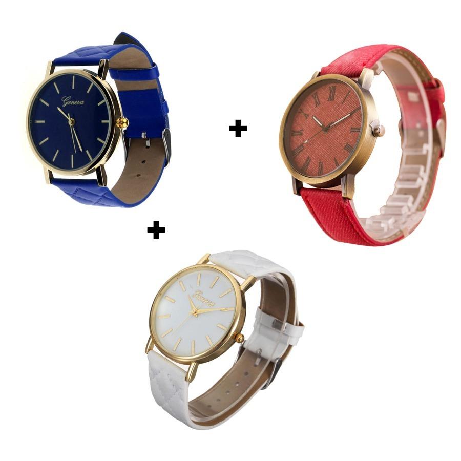 5d8a432733d ... lindos relógios femininos detalhes dourados top. Carregando zoom.