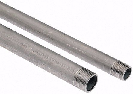 kit com tubos e conexões aço galvanizado de 3/4 lsgo
