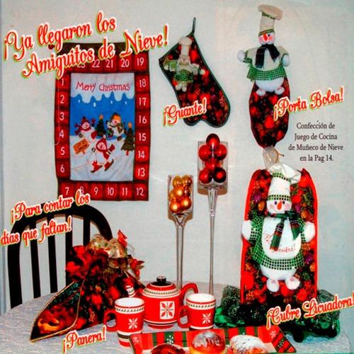 kit combo full navideño lenceria forros muñecos botas arbol