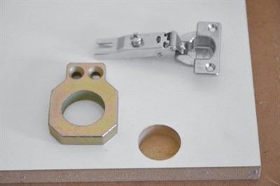 kit combo gabarito dobradiça zinni - az010gab56 - aluzini