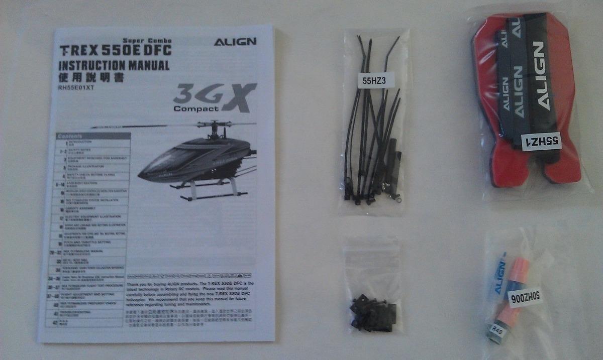 Kit Combo Manual Trex+trava Rosca + H60085 + H6062 + Hob0001