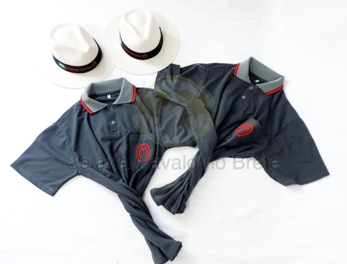 Kit Combo Para Cavalgada 2 Chapeus + 2 Camisas Mangalarga - R  250 ... 103a23a775c