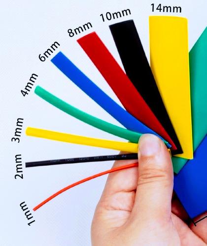 kit combo termoencogible para cables 40 piezas