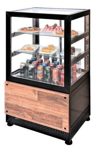 kit combo vitrines omega : refrigerada + quente + neutra