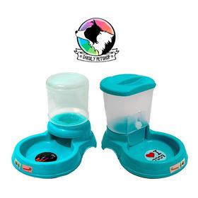 Kit Comedero & Bebedero Dosificador