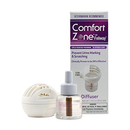 kit comfort zone feliway difusor para gato calmante