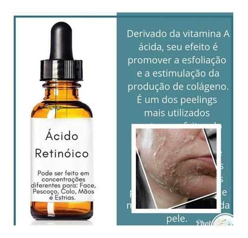 kit completo 3d + acido retinoico 40%( manchas) + brinde