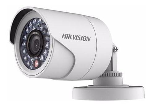 kit completo 4 camaras hikvision hd 720p cctv dvr accesorios