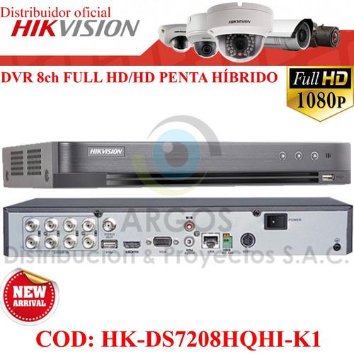 kit completo 8 cámaras full hd 1080p hikvision disco 1tb wd