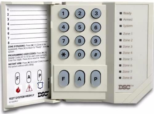 kit completo alarma dsc 585 sirena 30w