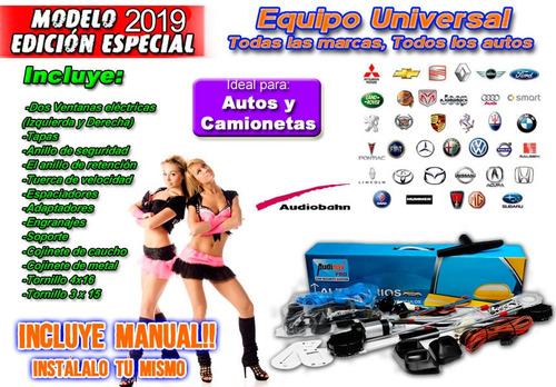 kit completo alza cristales 2 puertas audimax by audiobahn .