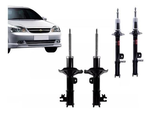 kit completo amortiguadores chevrolet optra 2005 al 2015