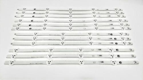 kit completo barra de led lg 47ln5400 47la6200 kit 47la 47ln
