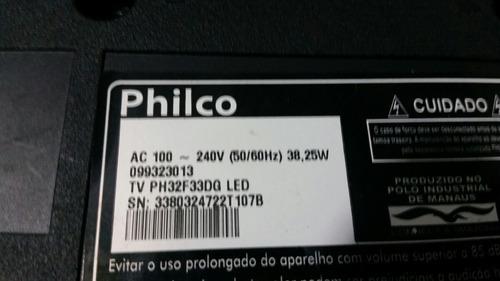 kit completo barras de led philco tv ph32f33dg + fretegrátis