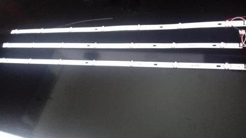 kit completo barras led lg 43lj5500 43lj5550 43uj6300