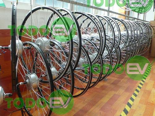 kit completo bicicleta electrica ebike, listo para usar