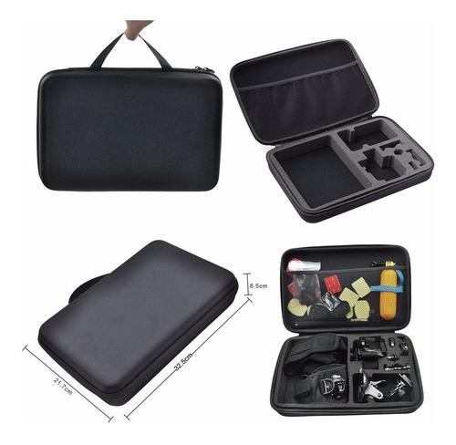 kit completo de accesorios + estuche camaras gopro 1 2 3 4 5