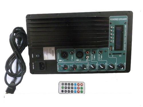 kit completo de amplificador de audio woofer, medios, twiter