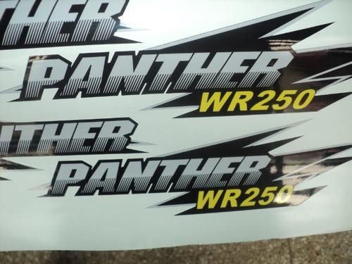 kit completo de calcos cuatriciclos panther 250 / 200 / 110