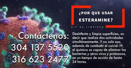kit completo de desinfeccion