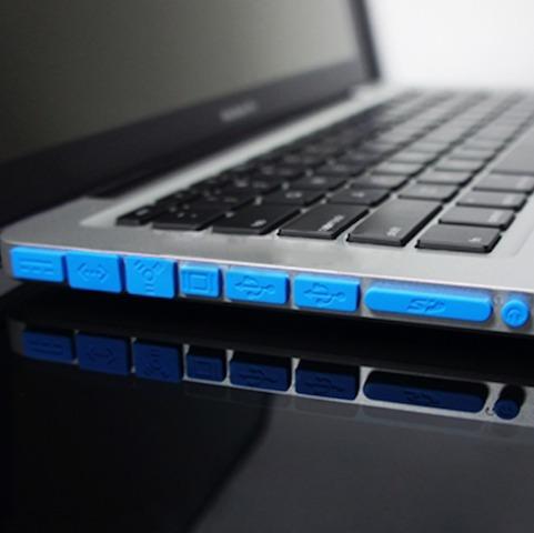 kit completo de protectores para puertos de macbook
