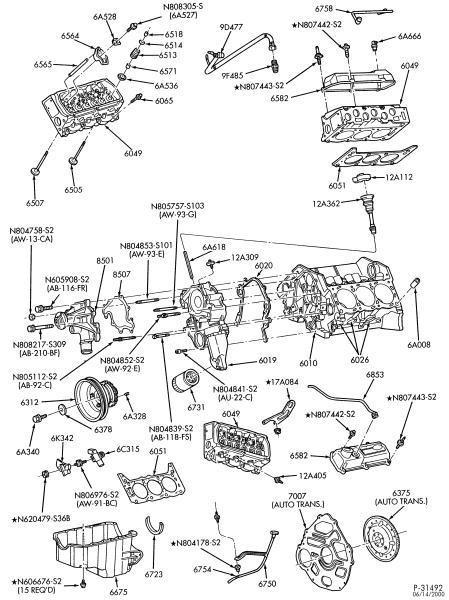 kit completo de reparacion para motor 4 6 de ford f150 97