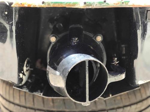 kit completo de turbina para adaptação em barcos jangadas