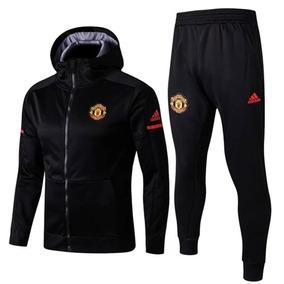 089e515f48a Kit Completo Do Manchester United Para O Frio Oficial