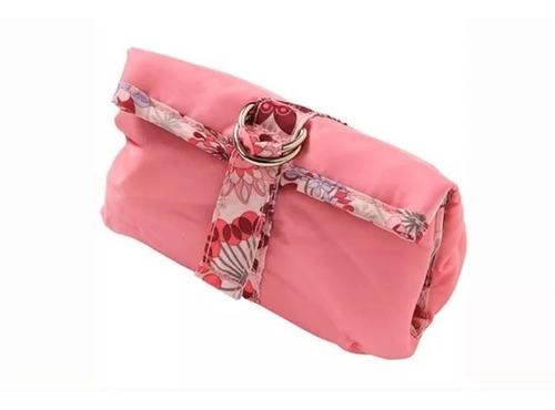 kit completo higiene beleza rosa 18 peças safety s174ih